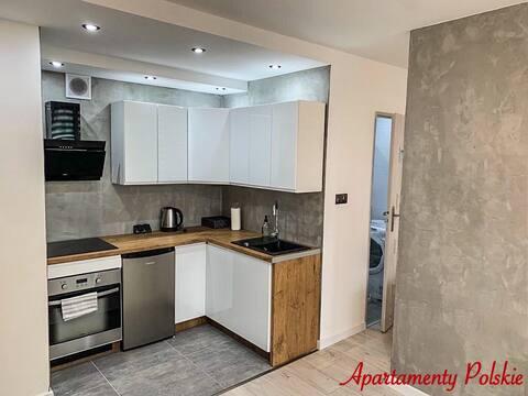 Apartment by Towarowa Street