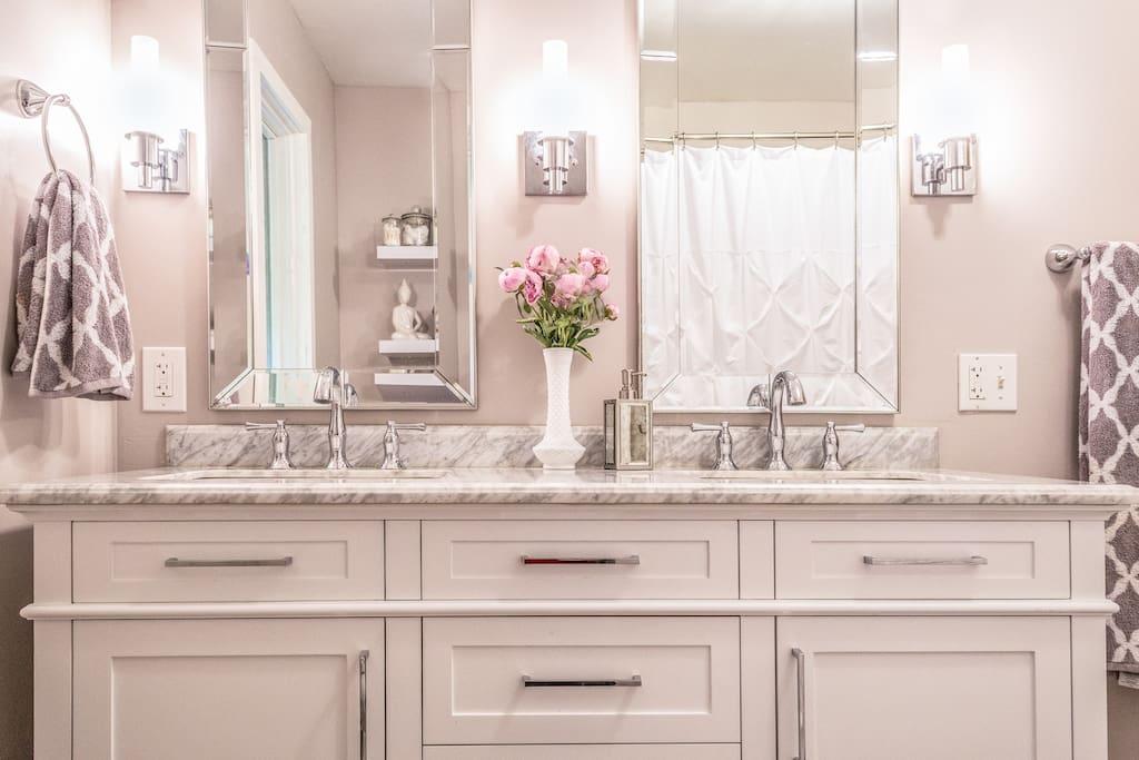 Luxury Vanity just installed!