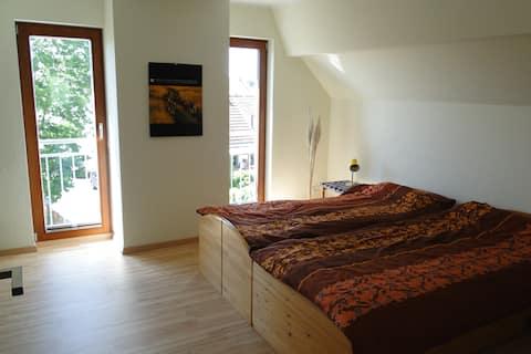 Moderna soba s pogledom