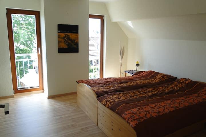 Modernes Zimmer mit Aussicht