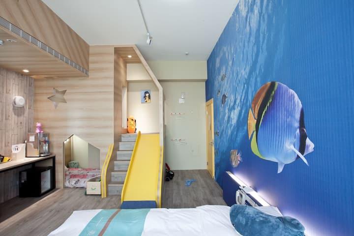 親子民宿 可是放鬆的好地方