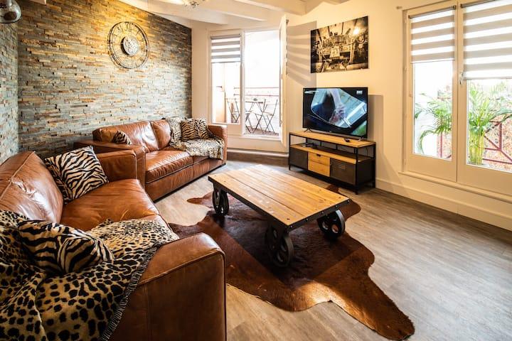 LE ROHAN SAWADEE Appartement f3 85m2 centre ville