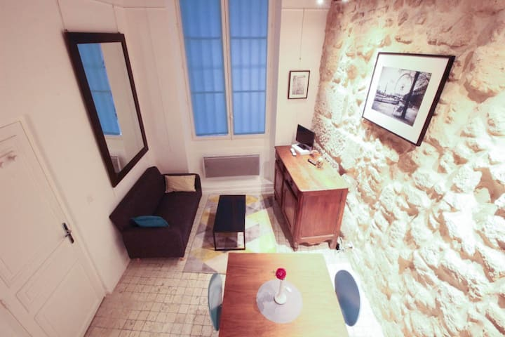 CHARMING & COMFY STUDIO IN THE HEART OF THE MARAIS