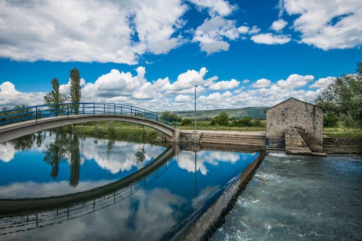 Villa Sennia 6+2  by the beautiful watermill