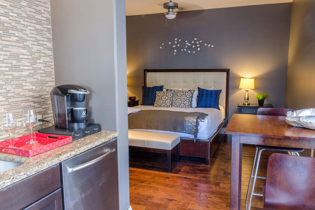 Enjoy this beauitful guest suite