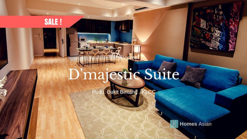 D68 Luxury Suite Plus 2b2b, KLCC/Bukit Bintang