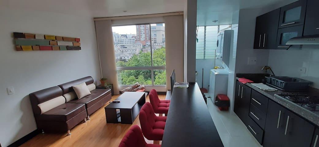 ¡Hermoso apartamento en la mejor ubicación!