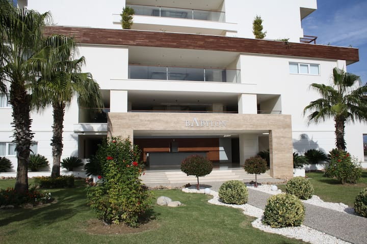 Babylon Beach 1 Bedroom Luxury Apartment - Ilıca Belediyesi - Departamento