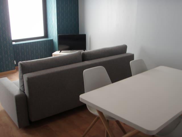 salon , canapé lit