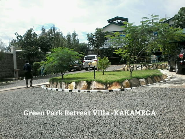 GREEN PARK RETREAT VILLA -KAKAMEGA  (Phone number hidden by Airbnb)