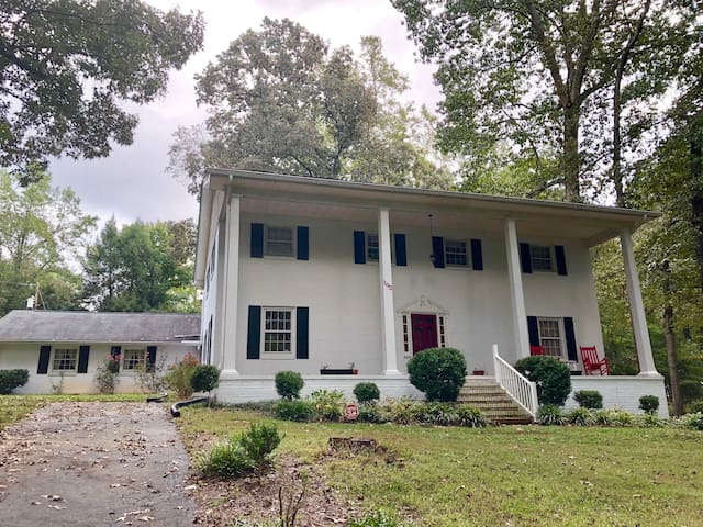 Peaceful Kannapolis Colonial Home