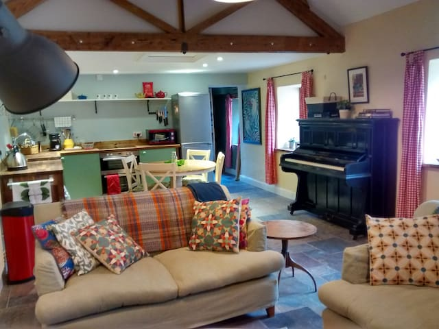 Farm cottage with WiFi, West Somerset, sleeps 4 - Brompton Ralph - Casa