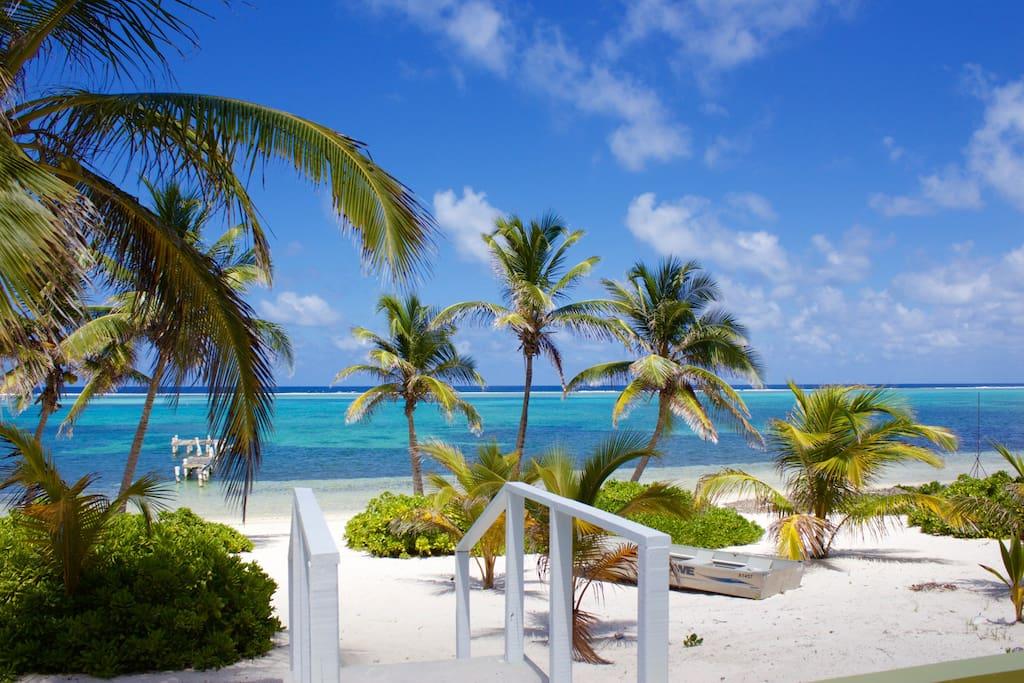 Our Private, White Sand Beach