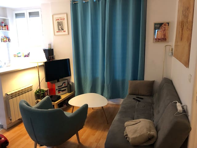 Chambre dans appartement cosy proche Paris