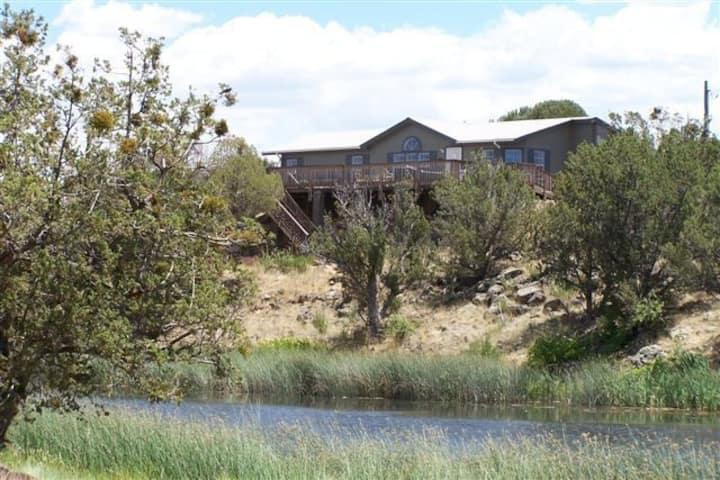 White Mountain Lake, Creek-Side Home. A Rare Find!