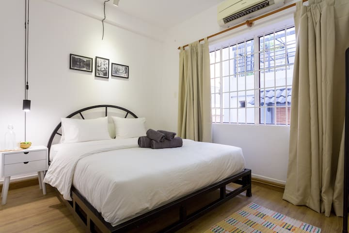 (2B) Sleek City Studio - Ho Chi Minh - Bed & Breakfast