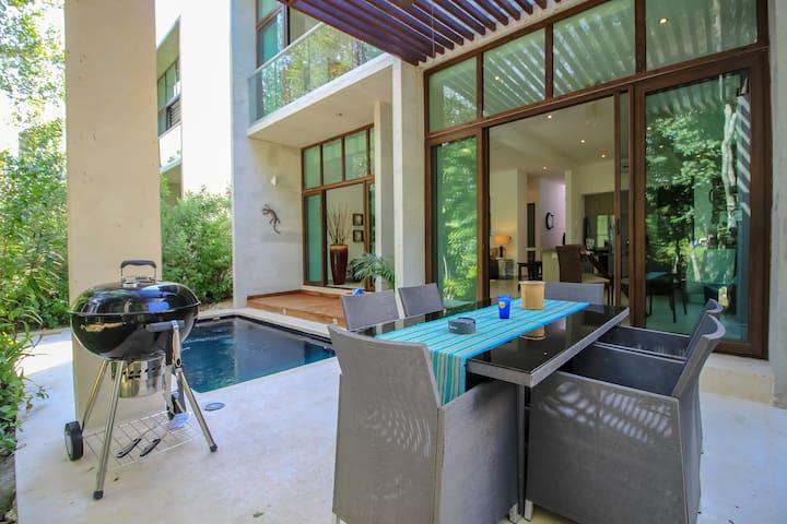 Villa Mimosa-casa de lujo con piscina privada