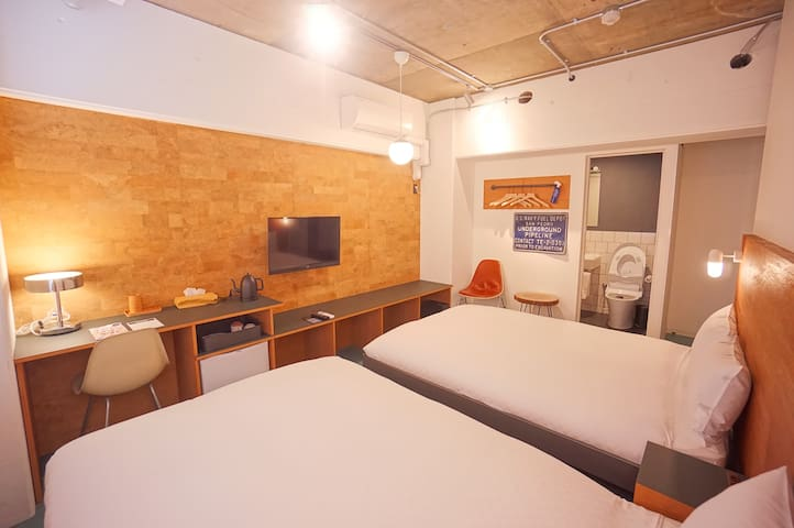 Earthmans apt 202/3mins walk from Shinsaibashi EMA
