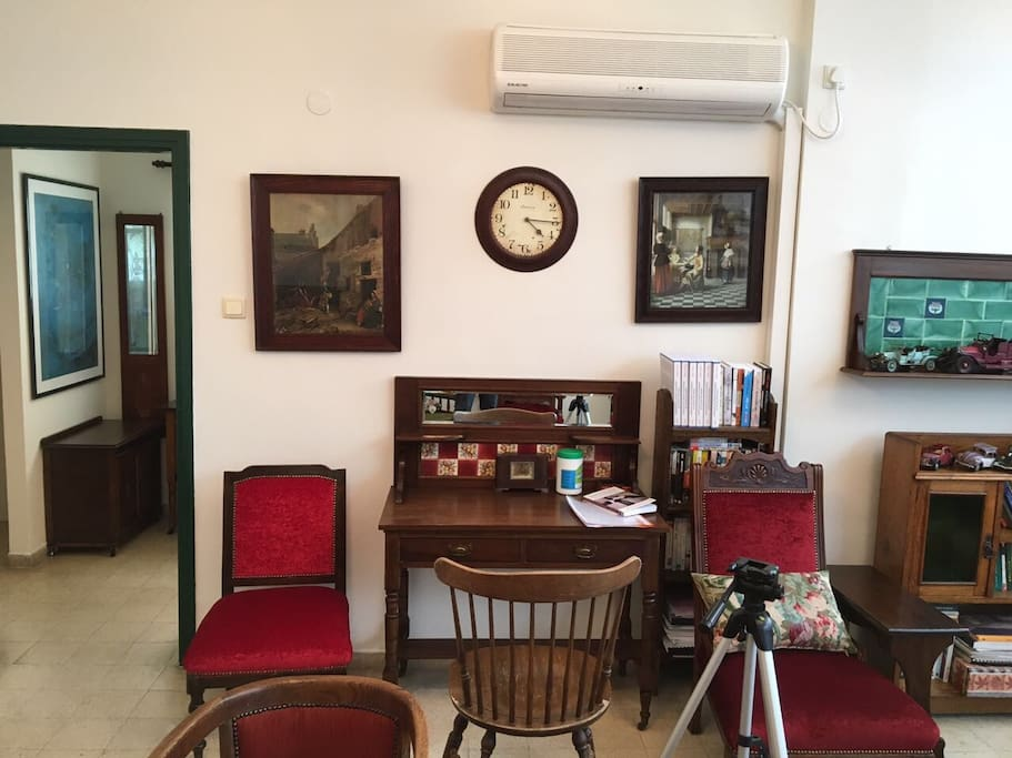 Bedroom and Office