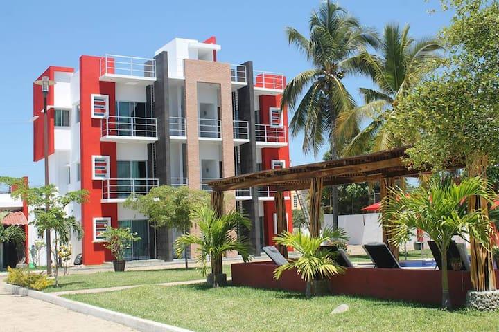 Bungalows Melaque Paradise - San Patricio - Apartmen