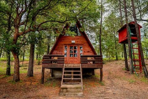Romantica cabaña en Bosques de Llano Grande