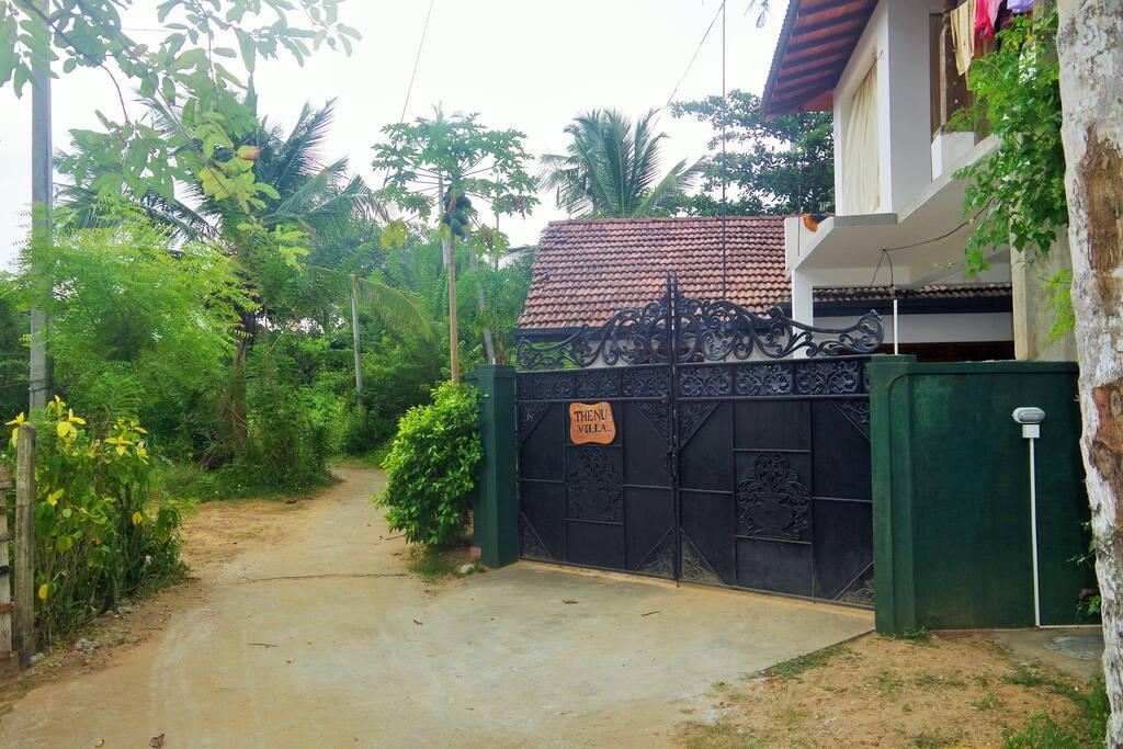 in front of our house - Thenu Villa – Hikkaduwa – Sri Lanka