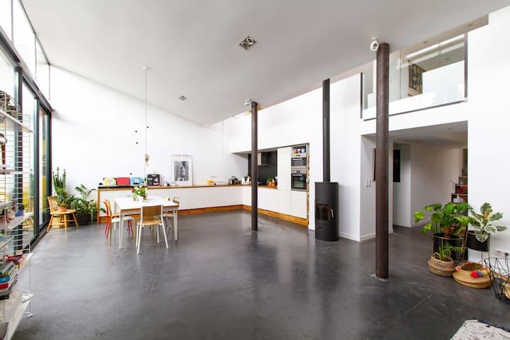 Grand Loft, 4 chambres, Garage, Terrasse