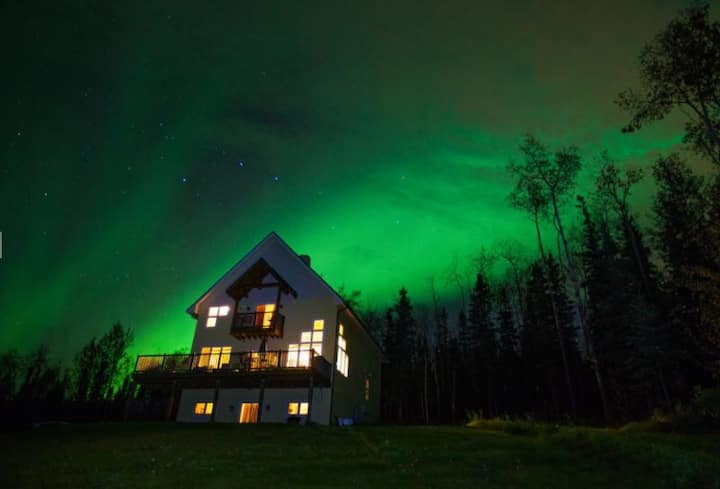 Northern Lights on the Tanana River