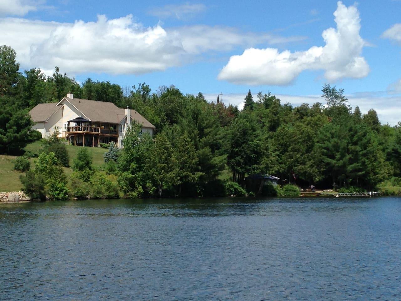 Located on the beautiful Madawaska River