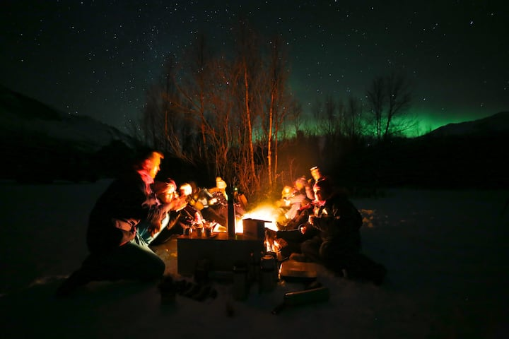 Fantastic Location! Northern lights friendly :)Nr1