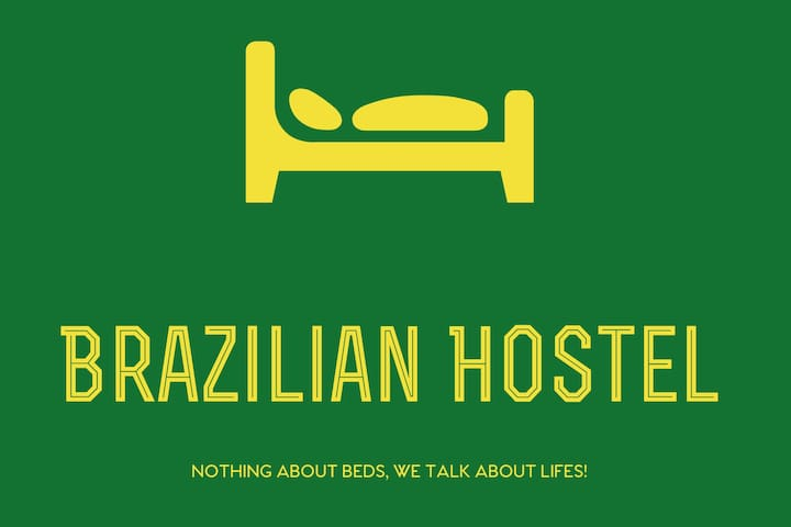 B4) Brazilian Hostel Shared  room 4 beds L2