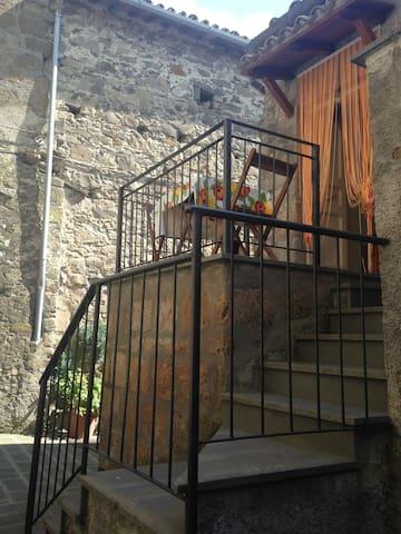 Appartamento in castello medievale - Sermugnano - Leilighet
