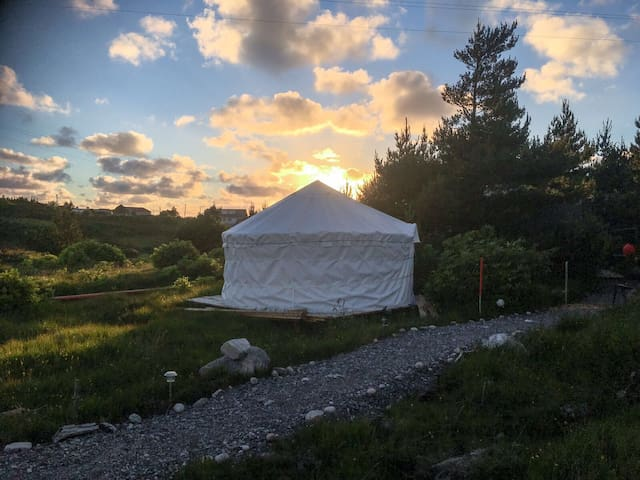 Wild Atlantic Stay in Cosy Donegal Yurt