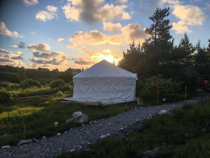 Glamping Experience in Magical Donegal Yurt