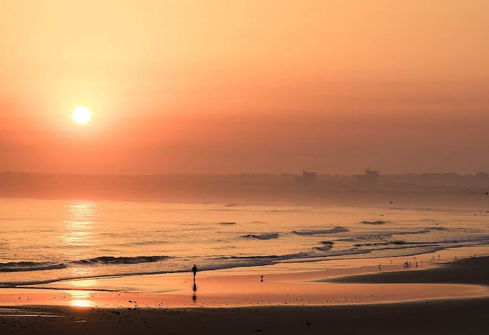 Sunset in Peniche