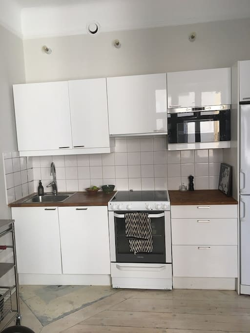 Kitchen with great working space