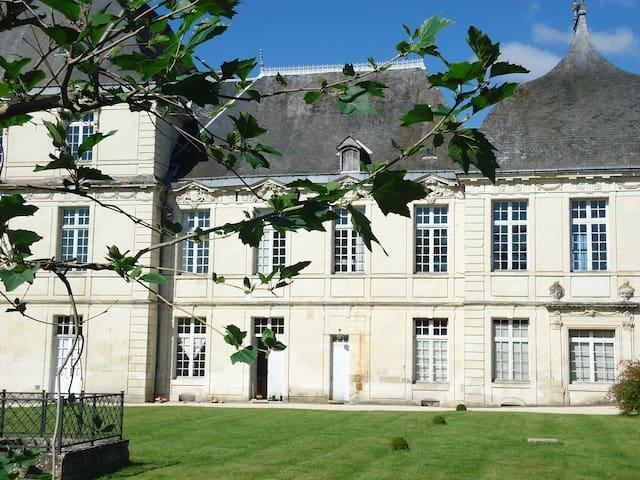Château de la Rallière (17ème) - Preuilly-sur-Claise - Kasteel