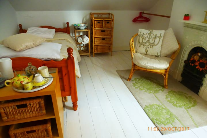 A unique single bedroom set in a Mill village