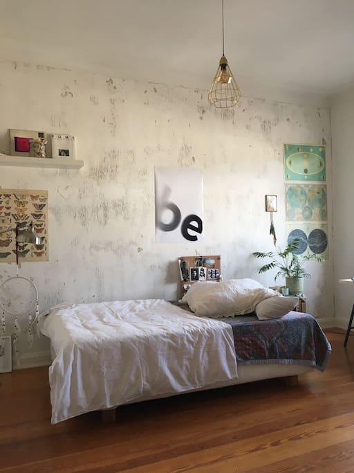 Schlafzimmer/ Bett