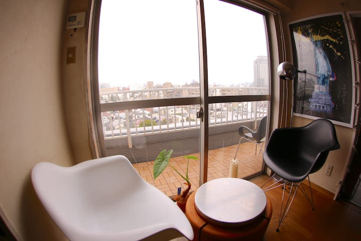 SHIBUYA-10min-Penthouse-Nice View-