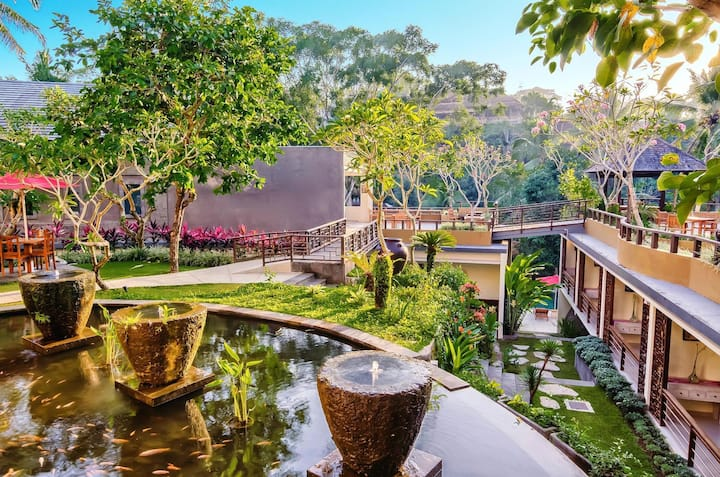 Boutique Room Deluxe Garden View At Ubud