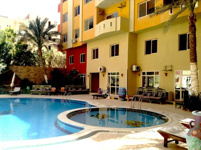 Diamond Arabia. Orange - Hurghada - Apartmen