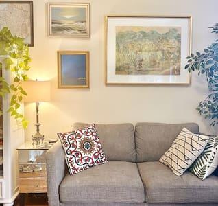 Private Apartment | UES 1 BR | Bright & Bohemian