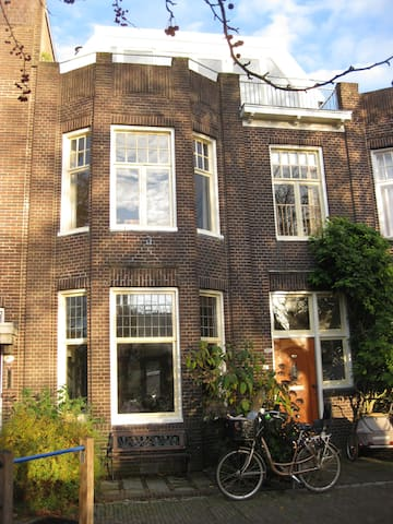 Spacious and cosy family home near city center - Groningen - House