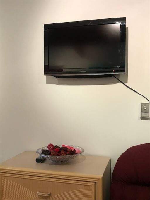 Television in private room