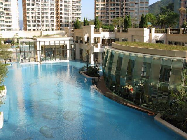 沙田Shatin 酒店式小区公寓 舒适主卧 到地铁只需2分钟 - 香港 - Pis
