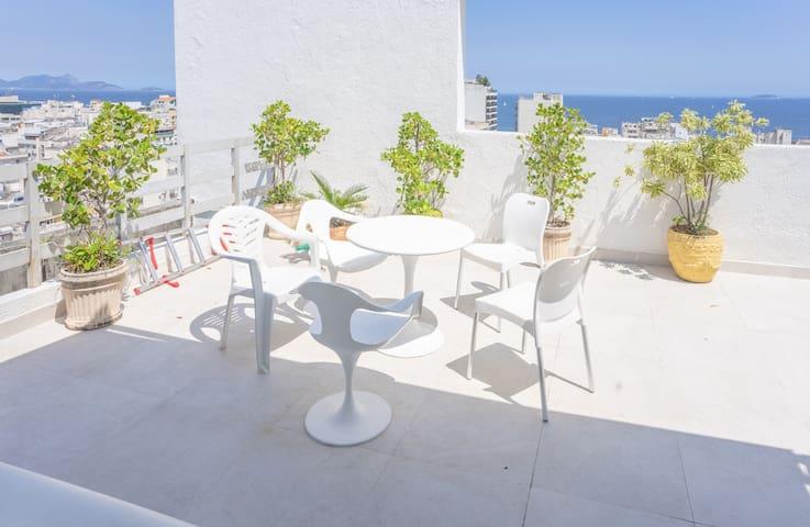 Penthouse in Copacabana: Panorama, Maisonette