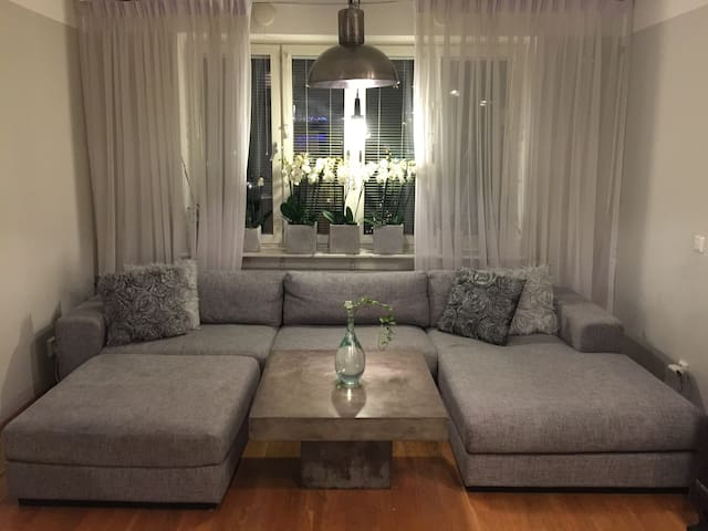 Modern 75m2 Södermalm portabel wifi - Stockholm - Appartement