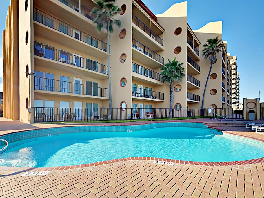 Enjoy an abundance of on-site guest amenities, including access to the sparkling swimming pool.