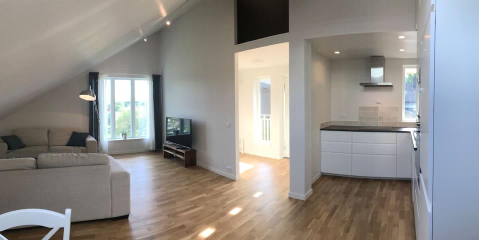 Ny lys leilighet i Stiklestad allé